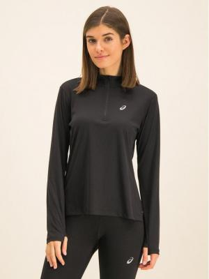 Asics Koszulka techniczna 1/2 Zip Top 2012A033 Czarny Regular Fit