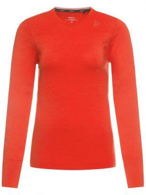 Craft Bielizna termoaktywna górna Fuseknit Comfort 1906592 Czerwony Slim Fit