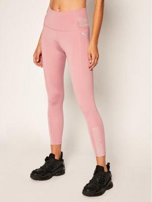 Puma Legginsy Evostripe High 7/8 583534 Różowy Slim Fit