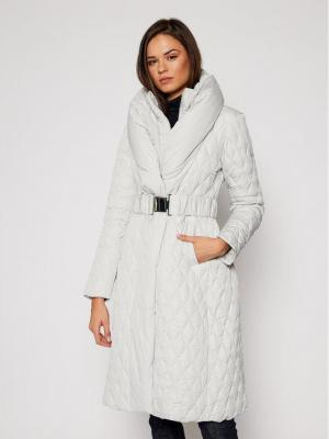 Guess Płaszcz zimowy Wallis W0BL05 WDEY0 Szary Regular Fit