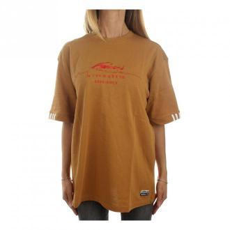 Adidas Gd2978 Krótki rękaw Kobiety Mesa Koszulki i topy Brązowy