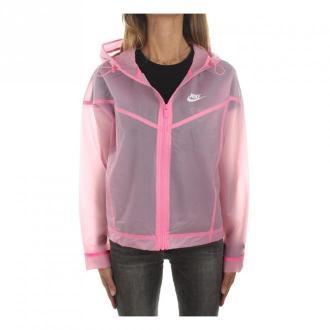 Nike Nike Cu6578-607 Waterproof Women Pink Glow / white Kurtki Różowy