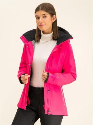 Roxy Kurtka snowboardowa Wilder ERJTJ03213 Różowy Short Fit