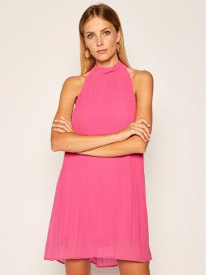 Pepe Jeans Sukienka koktajlowa Marilo PL952709 Różowy Regular Fit