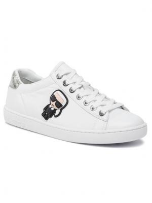 KARL LAGERFELD Sneakersy KL61230 Biały