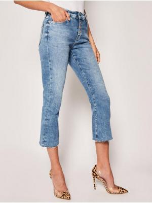 Tommy Jeans Jeansy Regular Fit Katie DW0DW08134 Niebieski Crop Flare Fit