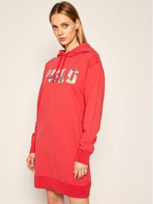 Polo Ralph Lauren Sukienka dzianinowa Lsl 211800473001 Czerwony Regular Fit