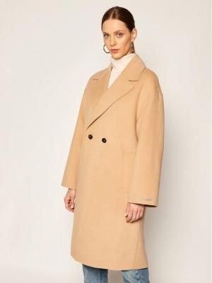 Marella Płaszcz przejściowy Nube 30161008 Beżowy Regular Fit