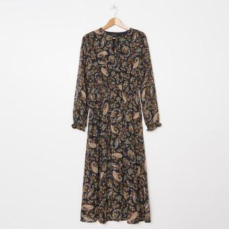 House - Wzorzysta sukienka maxi - Wielobarwny