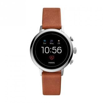 Smartwatch FOSSIL - Venture Hr FTW6014 Brown/Silver