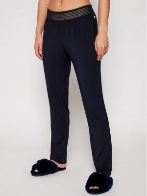 TOMMY HILFIGER Spodnie materiałowe UW0UW02550 Granatowy Regular Fit