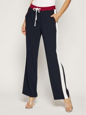 TOMMY HILFIGER Spodnie materiałowe WW0WW25629 Granatowy Regular Fit