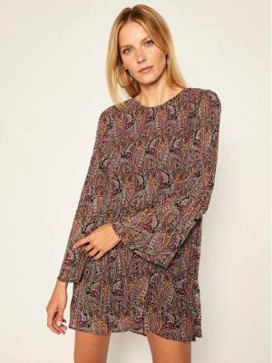 Pepe Jeans Sukienka codzienna Marisol PL952750 Kolorowy Regular Fit