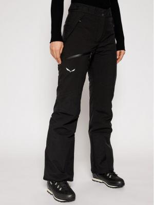 Salewa Spodnie narciarskie Antelao Beltovo Twr Pnt 28252 Czarny Regular Fit