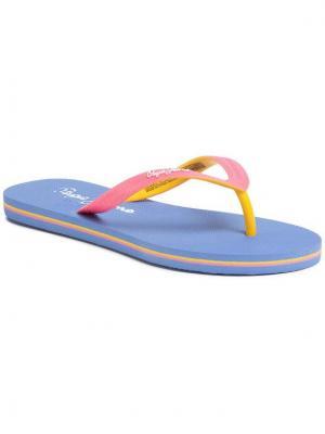 Pepe Jeans Japonki Beach Basic Girl PGS70032 Różowy
