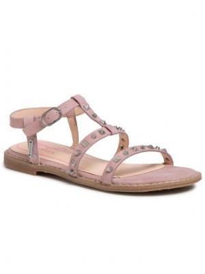 Pepe Jeans Sandały Elsa Studs PGS90143 Różowy
