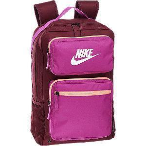 Bordowo-różowy plecak damski Nike