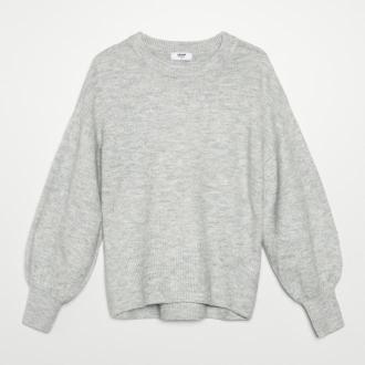 Cropp - Sweter oversize - Jasny szary