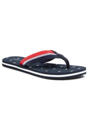 TOMMY HILFIGER Japonki Flag Beach Sandal FW0FW04812 Granatowy