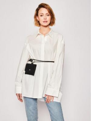 Silvian Heach Sukienka koszulowa Bolloh CVP20123CA Biały Regular Fit