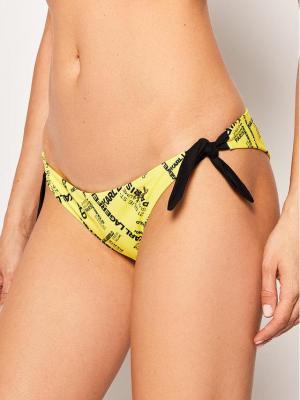 KARL LAGERFELD Dół od bikini KL20WBT22 Żółty