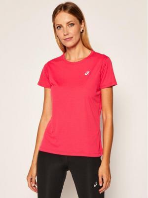 Asics Koszulka techniczna Silver Ss 2012A029 Różowy Regular Fit
