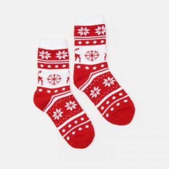 Sinsay - Skarpetki świąteczne - Czerwony