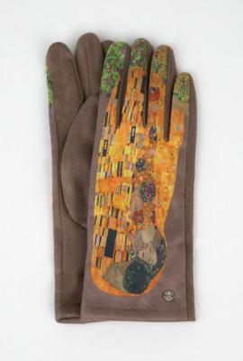 Rękawiczki damskie z nadrukiem obrazu