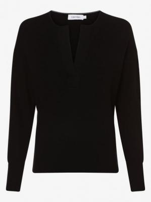 Calvin Klein - Sweter damski, czarny
