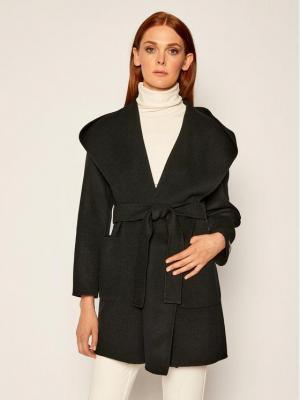 Marella Płaszcz przejściowy Fumetto 30160908 Czarny Regular Fit