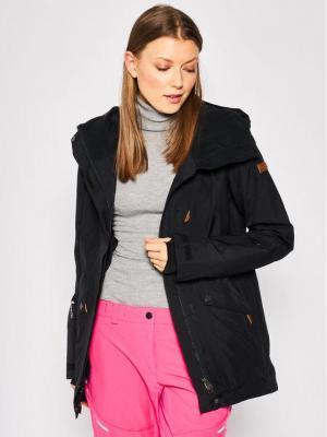 Roxy Kurtka narciarska Glade ERJTJ03224 Czarny Tailored Fit