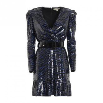 BENGAL LS SEQUIN DRESS