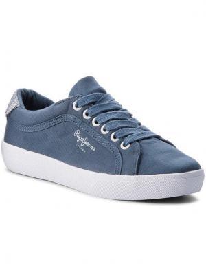 Pepe Jeans Tenisówki Rene Skate PLS30634 Granatowy