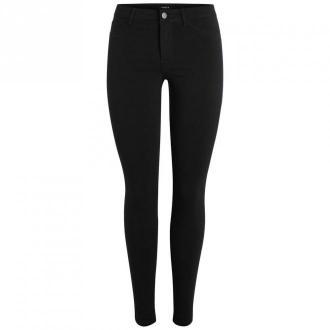 Pieces Normal waist Jeans Jeansy Czarny Dorośli Kobiety Rozmiar: XS