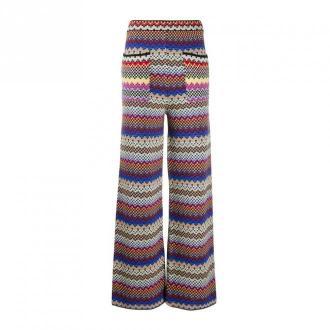 M Missoni Patch Pocket Trousers Spodnie Czerwony Dorośli Kobiety
