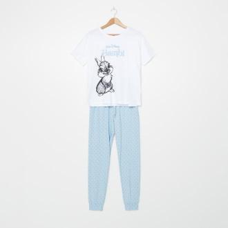 House - Bawełniana piżama Bambi - Wielobarwny
