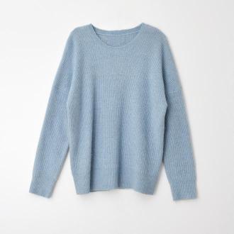 Mohito - Sweter oversize Eco aware - Niebieski