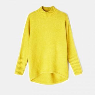 Mohito - Dzianinowy sweter z półgolfem - Zielony