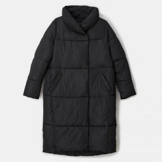 Mohito - Ocieplany płaszcz Eco Aware - Czarny