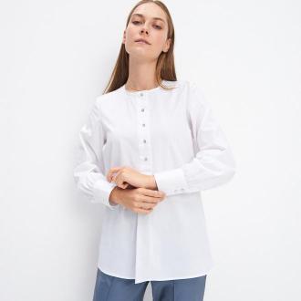 Mohito - Koszula z bufiastymi rękawami - Biały