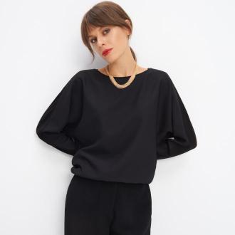 Mohito - Wiskozowa bluzka - Czarny