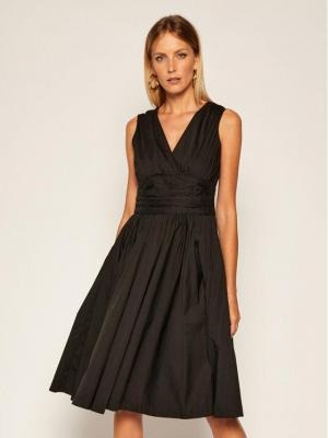 MICHAEL Michael Kors Sukienka koktajlowa MU08ZTFF4C Czarny Regular Fit