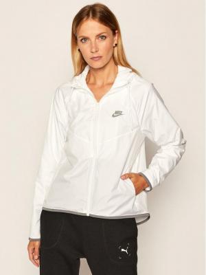 NIKE Wiatrówka Sportswear BV3939 Biały Loose Fit
