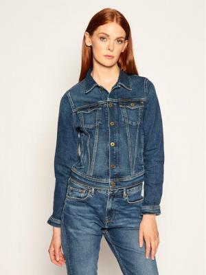 Pepe Jeans Kurtka jeansowa Core PL400654 Granatowy Regular Fit