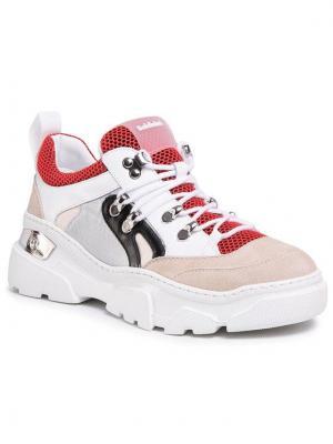 Baldinini Sneakersy 098054XVERSBIAROSXXX Biały