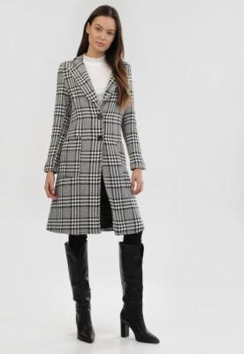 Biało-Czarny Płaszcz Falconwood