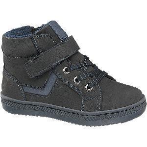 Czarne ocieplane buciki chłopięc Bobbi-Shoes