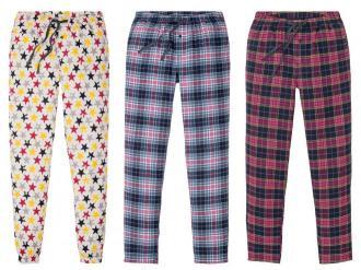 ESMARA® Spodnie od piżamy damskie, 1 para