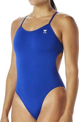 TYR Solid Cutoutfit Strój kąpielowy Kobiety, royal US 36 DE 40 2020 Stroje kąpielowe
