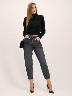 Pepe Jeans Golf DUA LIPA Silvi PL701560 Czarny Regular Fit
